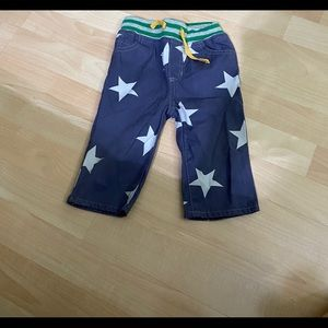 Baby Boden Pull On Star Pants 12-18 months